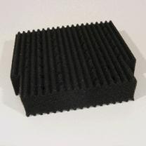 Náhradní filtrační houba ProfiClear M5 černá, široká
