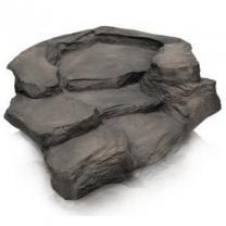 Potoční dílec Grand Canyon šedý - pravá zatáčka