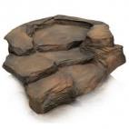Potoční dílec Grand Canyon hnědý - levá zatáčka