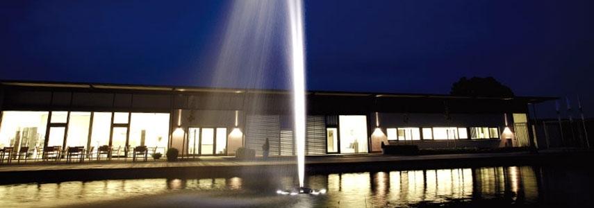 Plovoucí fontány
